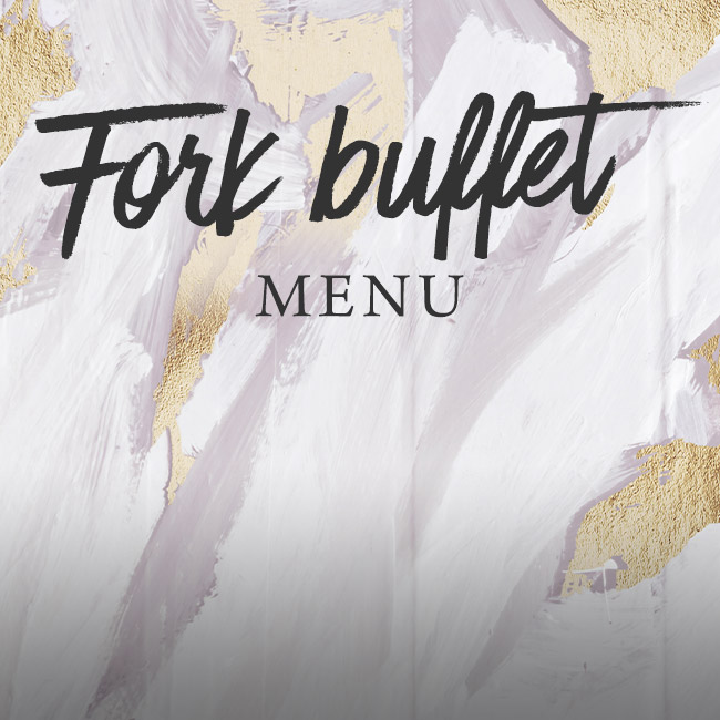 Fork buffet menu at The Oatlands Chaser