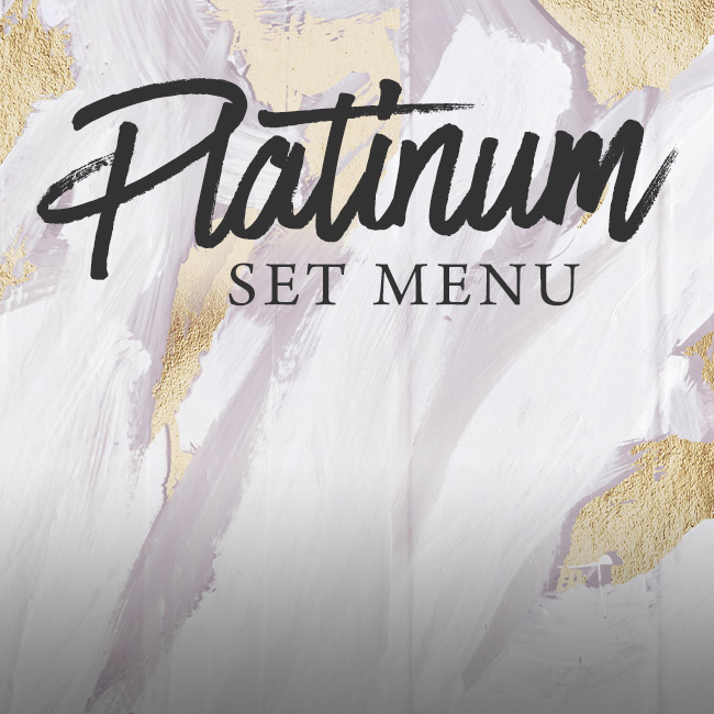 Platinum set menu at The Oatlands Chaser