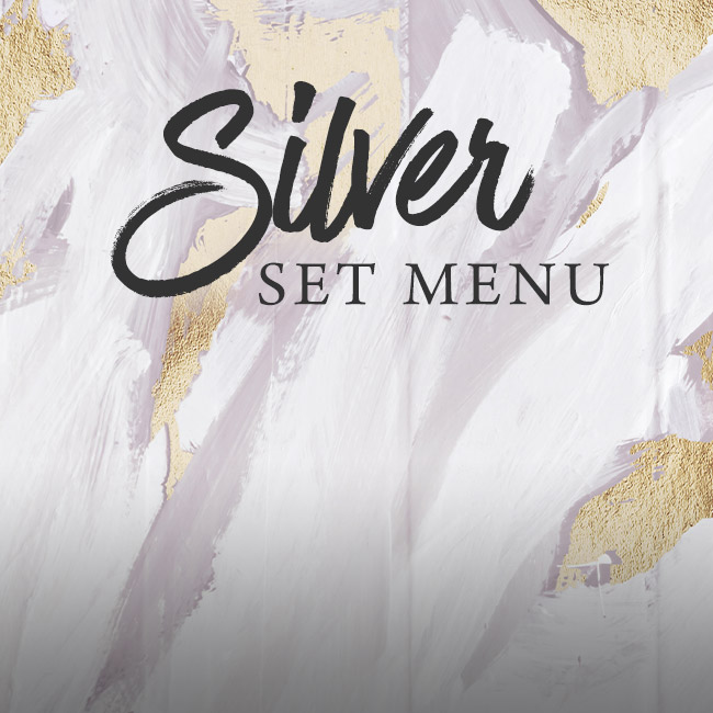 Silver set menu at The Oatlands Chaser