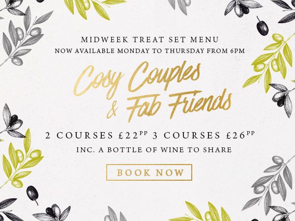 Midweek treat at The Oatlands Chaser - Book now